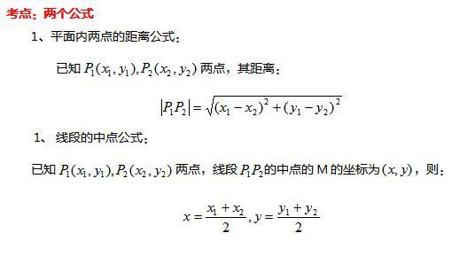 【河南成人高考】2019年高起点数学文科重点知识(二)